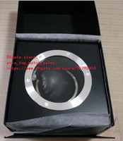 Wholesale gift cards for sale - factory sales Watch Box Papers Card Transparent Glass Gift Watch Boxes For Swiss 2824 7750 HUB4100 Movement Watches