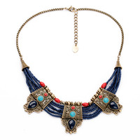 Wholesale nepal silver - vintage Nepal Indian Turkish Tribal Necklaces jewelry Ethnic Chunky Necklace Pendant