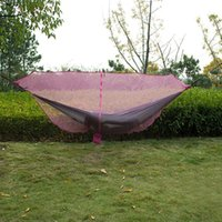 Wholesale swings for sale resale online - Outdoor Camping Hiking Mesh Mosquito Net for Double Hammock Hanging Bed Swing Equipment TB Sale