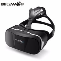 Wholesale BlitzWolf Original D VR Virtual Reality Glasses Headset HeadMount Immersive Movie For iPhone For Samsung Inch Phones