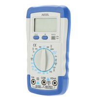 Wholesale pocket multimeter - Digital Multimeter A830L Pocket-size DMM Ammeter Voltmeter Ohmmeter hFE Tester electrician multimetro diagnostic-tool w LCD