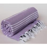 ingrosso asciugamani sottili di cotone-Tessuto in cotone nappa grande asciugamano da spiaggia 100x180cm estate strisce di adulti asciugamano sottile coperta arazzo asciugamani da bagno turco per gli uomini donne
