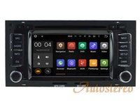 Wholesale dvd car volkswagen - Android 7.1 Quad Core Car DVD Player for VW Volkswagen TOUAREG 2003-2010 Car GPS Navigation Stereo Radio Bluetooth WIFI