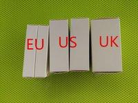 adaptador de alimentação usb original apple venda por atacado-5V 1A EUA / UE Plug USB AC Power Adapter Charger Wall Adapter de carregamento Com embalagem original de varejo