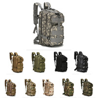 Wholesale outdoor backpack 3p bag resale online - 30L P Attack Tactical Military Backpacks Unisex Outdoor Travel Bag Mountaineering Hiking Backpack Camping Trekking Rucksack