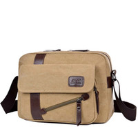 Wholesale file briefcase online - 2017 new fashion Men bag briefcase canvas business bags luxury high quality laptop briefcase File package Travel Leisure bags