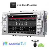 Wholesale max audio - Eincar Car dvd Stereo Radio Audio Android 7.1 Octa Core 2GB Car GPS Navigation for Ford S-max 2008-2012 Focus 2008-2010 Galaxy 2010-2012