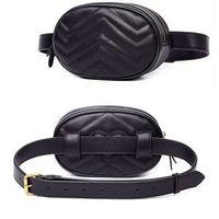 shouler handtaschen großhandel-Fanny Pack Gürteltasche Gürteltasche Hüfttasche Money Gürtel Monedero Handtasche Damen Shouler Taschen Leder # 442