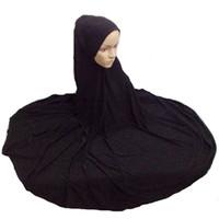 gorra de abaya al por mayor-Musulmana Niqaab Islámica Hijab Bufanda Mujer Islam Jilbab Cap Abaya 130cm Super Largo