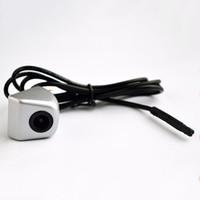 câblage de caméra de vue arrière achat en gros de-Style de voiture étanche Assistance de stationnement Mini renversant arrière caméra de vue arrière HD CCD fil caméra de caméra de recul livraison gratuite