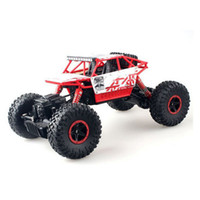 Wholesale fiber adapters for sale - Group buy All wheel drive bigfoot electric off road mountain climbing car children drift remote control toy car model