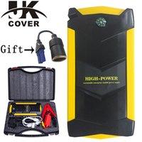 зарядное устройство multi pack оптовых-JKCOVER 68000mWh пиковый порт разряда автомобиля прыжок стартер 600A телефон Power Bank многофункциональный 12V авто зарядное устройство пакет