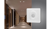 Wholesale pir modules for sale - Group buy AC V Infrared Induction PIR Motion Sensor Switch Time Delay Adjustable Mode Detector Wall Module Adapter For LED lamp Fan