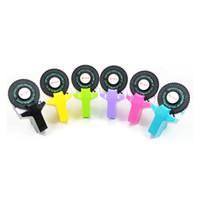 bedruckte klebebänder großhandel-Manueller Mini-Etikettendrucker selbstklebender Drucker DIY-Druck Handdekoration mit Selbstklebeband, Büro-Geschenk-Etikettierer Einrückdruck