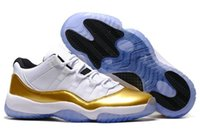 Wholesale prom men white shoes for sale - Group buy Big boy Kids White gold Concord Bred s Men Basketball Shoes Platinum Tint Space Jam Blackout prom night black