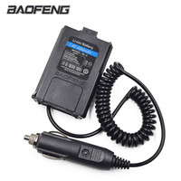 Wholesale Uhf Adapter - Baofeng 12V Car Charger Battery Adapter Eliminator for Baofeng Walkie Talkie UV5R UV-5R UV-5RE Plus UV-5RA Plus Radio