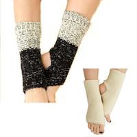 aquecedores de pés venda por atacado-Free Gel Heel Meias Hidratante Spa Cuidados Com Os Pés Para As Mulheres Dança Manopla Mão Crochet Vitela Bezerro Protetores de Bezerro Meninas