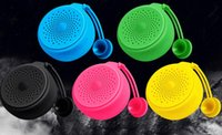 Wholesale outdoor certification - 2018 new silicone waterproof Bluetooth speaker portable Bluetooth audio waterproof certification