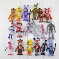 Wholesale iron man baby - 18pcs set FNAF Five Nights At Freddy's Funtime Baby Pizza World Ballora Foxy Freddy bear Ennard Springtrap Action Figures Toys