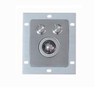 25mm tasten großhandel-voll IP67 versiegelt optischer Laser 800dpi Auflösung regenfest / wasserdicht 25mm Edelstahl Metall Trackball + 2 Maustasten