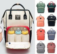 Wholesale Baby Panel - 14 Colors New upgraded version Multifunctional Baby Diaper Backpack Mommy Changing Bag Mummy Backpack Nappy Mother Maternity Backpacks
