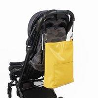 ingrosso sacchetti di pannolini gialli-Soboba Fashion Borsa per pannolini gialla / leopardata Elegante borsa a tracolla per passeggini Mummia