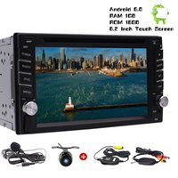 Wholesale car android rearview for sale - Wireless Rearview Camera Eincar Android Car Stereo Radio Double Din In Dash Headunit Quad Core quot Touchscreen car DVD BT GPS USB