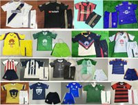 Wholesale Chivas Soccer - Kids Soccer Jerseys America Club Los Angeles FC Galaxy Atlanta United Chivas Flamengo Monterrey Orlando City Custom Youth Football Shirt Kit