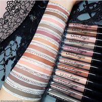 Wholesale nyx lip lingerie resale online - NYX lip lingerie liquid Matte Lip Cream Lipstick NYX Charming Long lasting Brand Makeup Lipsticks Lip Gloss colors DHL