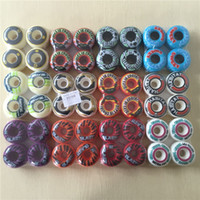 Wholesale skateboard decks online - USA brand skateboarding wheels A A Original New mm PRO for skateboarding deck Ruedas Patines Plastic Rodas Skate