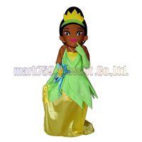 ingrosso costumi della mascotte della principessa degli adulti-La dimensione adulta di trasporto del costume della mascotte della regina della principessa, il partito lussuoso di carnevale del giocattolo della peluche della ragazza africana celebra le vendite della fabbrica della mascotte.