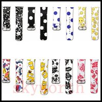 Wholesale dotted bracelet for sale - Group buy For Apple Watch Strap Bands Genuine Real Leather Straps Fashion Polka Dot Cartoon The Simpson Band mm mm Bracelets