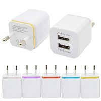 Wholesale general travels - Home travel dual port Wall Charger dual usb port Power Adapter metal Mushroom US Plug Charging general For iPhone Samsugn LG htc