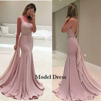 Wholesale china made pageant dresses for sale - Group buy 2018 Mermaid Prom Dresses Long Trumpet Sexy Sequined Belt Women Elegant Women Pageant Dresses Made in China vestidos de fiesta