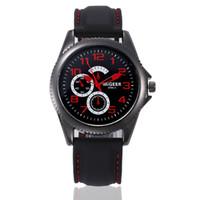 montres analogiques cool achat en gros de-Homme montres pour hommes de mode nouvelle avec bracelet en silicone Sport Cool Quartz Heures poignet Analogique Montre sportive de haute qualité