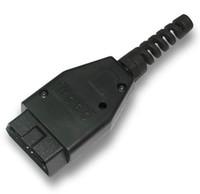 Wholesale obd2 connector male - New OBD OBD2 OBD-II EOBD 16 Pin Male Connector DLC Plug TH0278