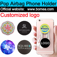 Wholesale Free Sockets - Wholesale Pop Up Cellphone Stand Universal Hot Socket Mobile Phone Holder For Smarphone Tablet Iphone X With Retail Package Free custom logo