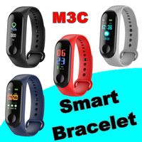 Wholesale M3C Smart Band inch Color Screen Smart Bracelet Fitness Tracker Heart Rate Blood Pressure Monitor Smart Ring PK Mi Band