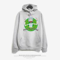 Wholesale green cardigan sweater men - New Fashion Couples Men Women Unisex Classic Cartoon Scientist Rick and Morty Print Hoodies Sweater Sweatshirt Jacket Pullover Top S-XXL