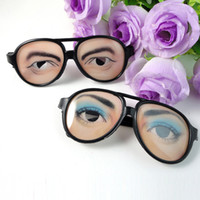 Wholesale Person Toy - April Fools'Day Creative Toy Party Decoration Halloween Cosplay Whole Person Glasses Props Funny Joke Glasses Tricky Toys