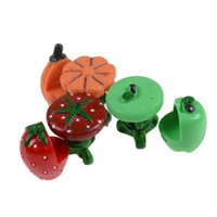Wholesale Tables Chairs For Wholesale - Cute Fruit Table+Fruit Chair Resin Craft Miniatures Fairy Garden Micro toys for kids children New pretend play toys