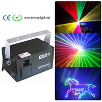 Wholesale laser ilda - Mutil-color ILDA+SD+2D+3D 1500mW RGB laser show system dj equipment laser light stage light holiday laser light laser