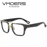 40e14372b97 VMOERS Aviator Square Eyewear Frames Luxury Style Myopia Optical Eye  Glasses Frame For Men Clear Lens Fake Eyeglass Frames Male