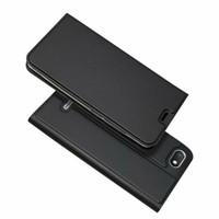 тонкая обложка книги оптовых-Для Xiaomi Redmi 6A Redmi 6 Pro флип чехол магнитный тонкий книга карты защитная оболочка бумажник кожаный чехол