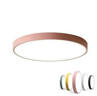 Wholesale Multicolour Modern Led Ceiling Lamp Round Super Thin cm Ceiling Lights For Bedroom Kitchen Lamp Indoor Ceiling lights