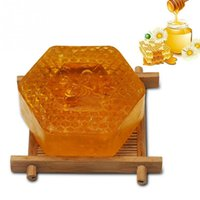 Wholesale essential oil whitening bath for sale - Group buy 100g Handmade Soap Essential Oil Moisturizing Unique Smell Natural Bath Body Skin Care Deep Cleansing Honey Soap