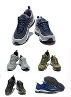 Wholesale Shoes Ultralight - 2018 New color 97 Ultra Silver Bullet Mens Casual Shoes,Ultralight 97 Ul Black white Grey Blue Casual Sneakers 5 Colors 18108-M