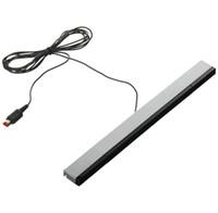 infrared ray sensörü toptan satış-Kablolu Kızılötesi Ray IR Sinyal Endüktör Sensörü Bar Alıcısı Nintend Wii Uzaktan hareket sensörleri için DHL FEDEX EMS ÜCRETSIZ NAKLIYE