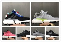 Wholesale brown system - New Fashion Designer P.O.D-S3.1 SYSTEM Sports Running Shoes Mens Women Pod S 3.1 Triple Black Blue Tennis Sneakers 36-45