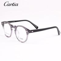 35b7784cb5679 Carfia Designer de marca óculos de leitura quadro para homens e mulheres  5105 oculos de grau feminino masculino armações de óculos de prescrição  óptica